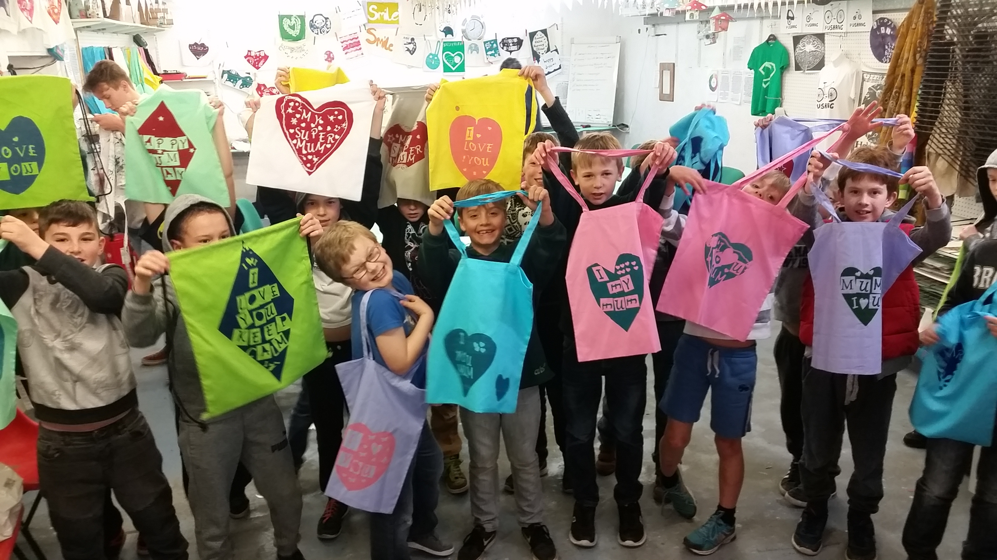 Childrens Screenprinting Party