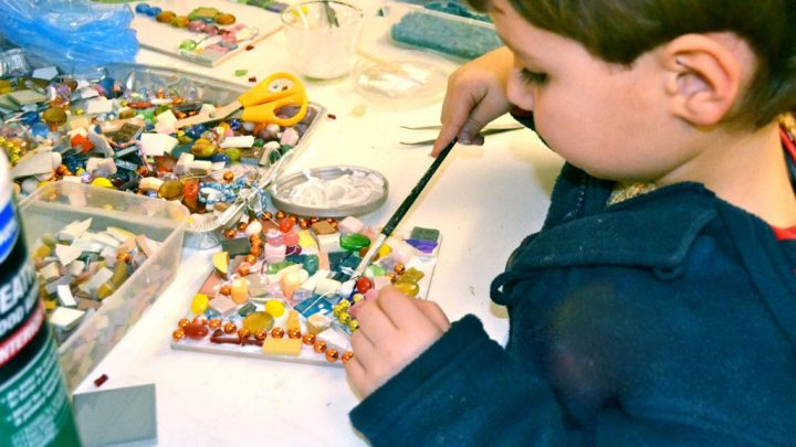 Childrens Party: Mosaicing