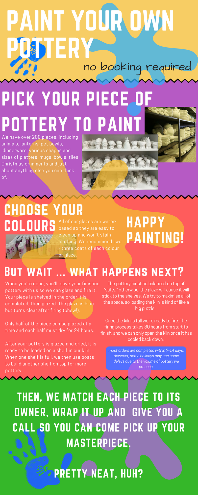 Paint Your Own Pottery Guernsey