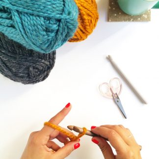 Knitting Workshop in Guernsey